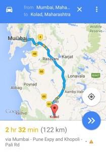 Mumbai to Kolad