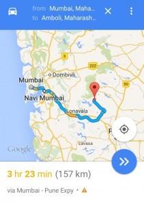Mumbai to Amboli Ghat