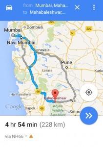 Mumbai to Mahabaleshwar