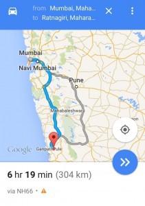 Mumbai to Ratnagiri