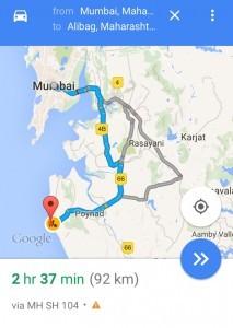Mumbai to Alibaug